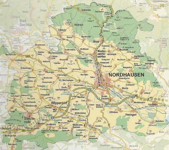 Region Südharz