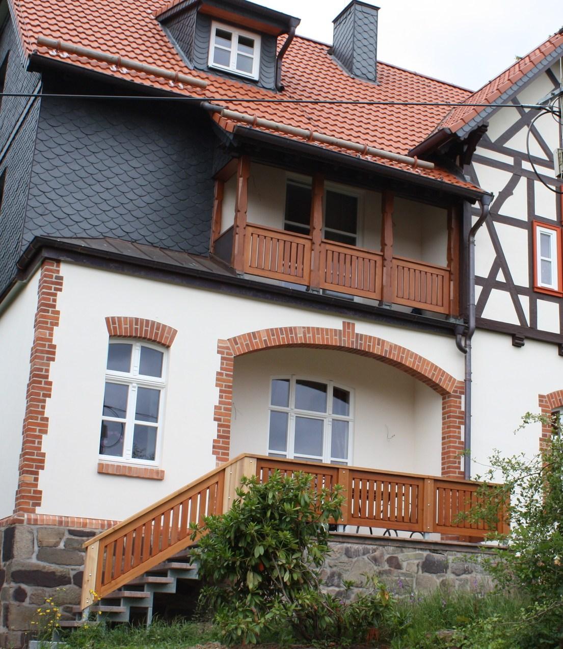 Alte Försterei Rothesütte, Sanierung der Fassade durch einen privaten Antragsteller