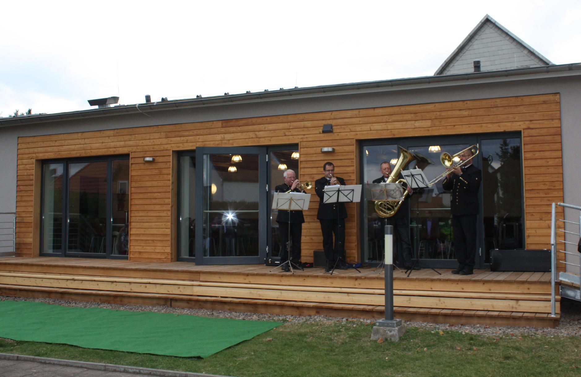 Feierliche Eröffnung des Dorfgemeinschaftshauses in Kleinbodungen