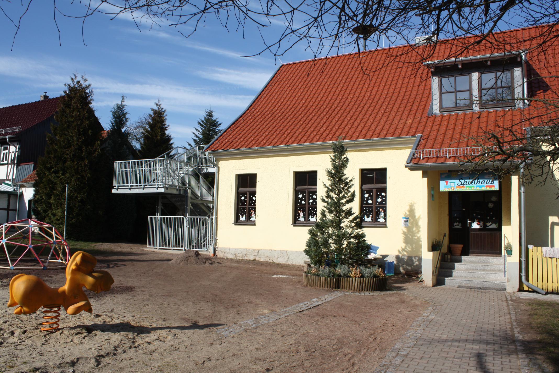Ausbau der oberen Etage der KITA und Neubau der Außentreppe in der Gemeinde Großlohra, OT Friedrichslohra
