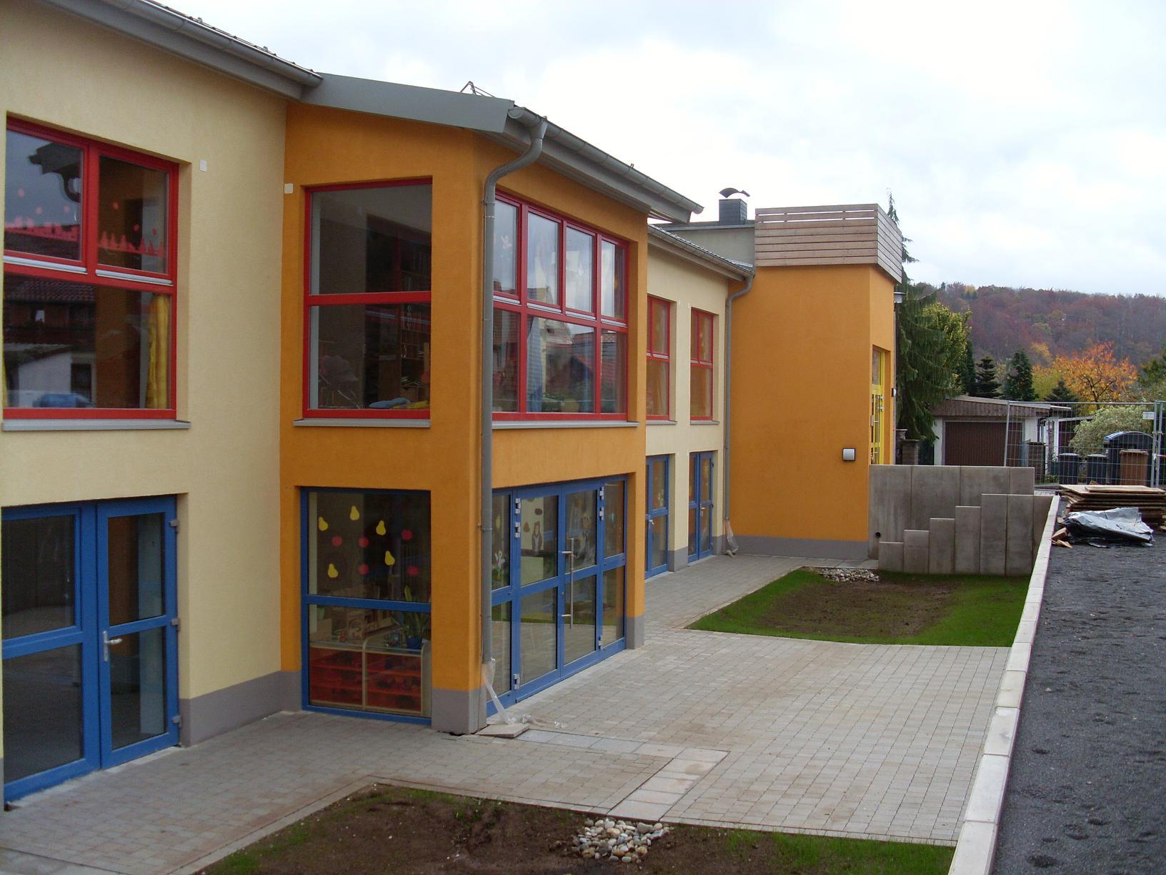 Um-, An- und Umbau der KITA in Ilfeld, Gemeinde Harztor