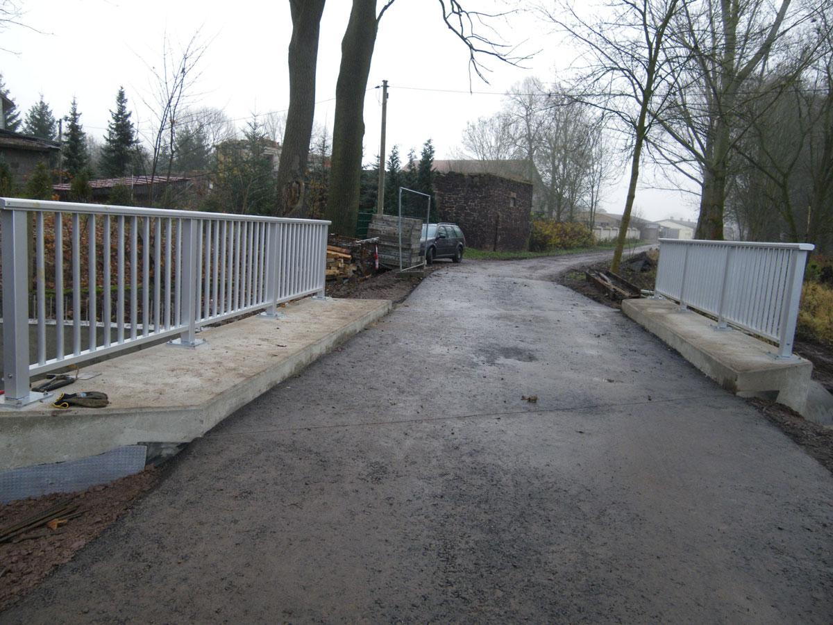 Sanierung der Brücke über die Sülze am Ochsenweg in der Gemarkung Werna - Stadt Ellrich