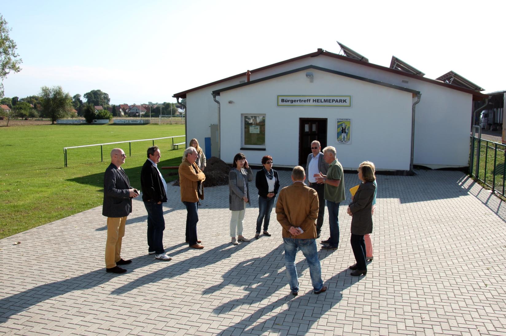 Projekt des SV Grün-Weiß Uthleben, Bürgertreff Helme-Park