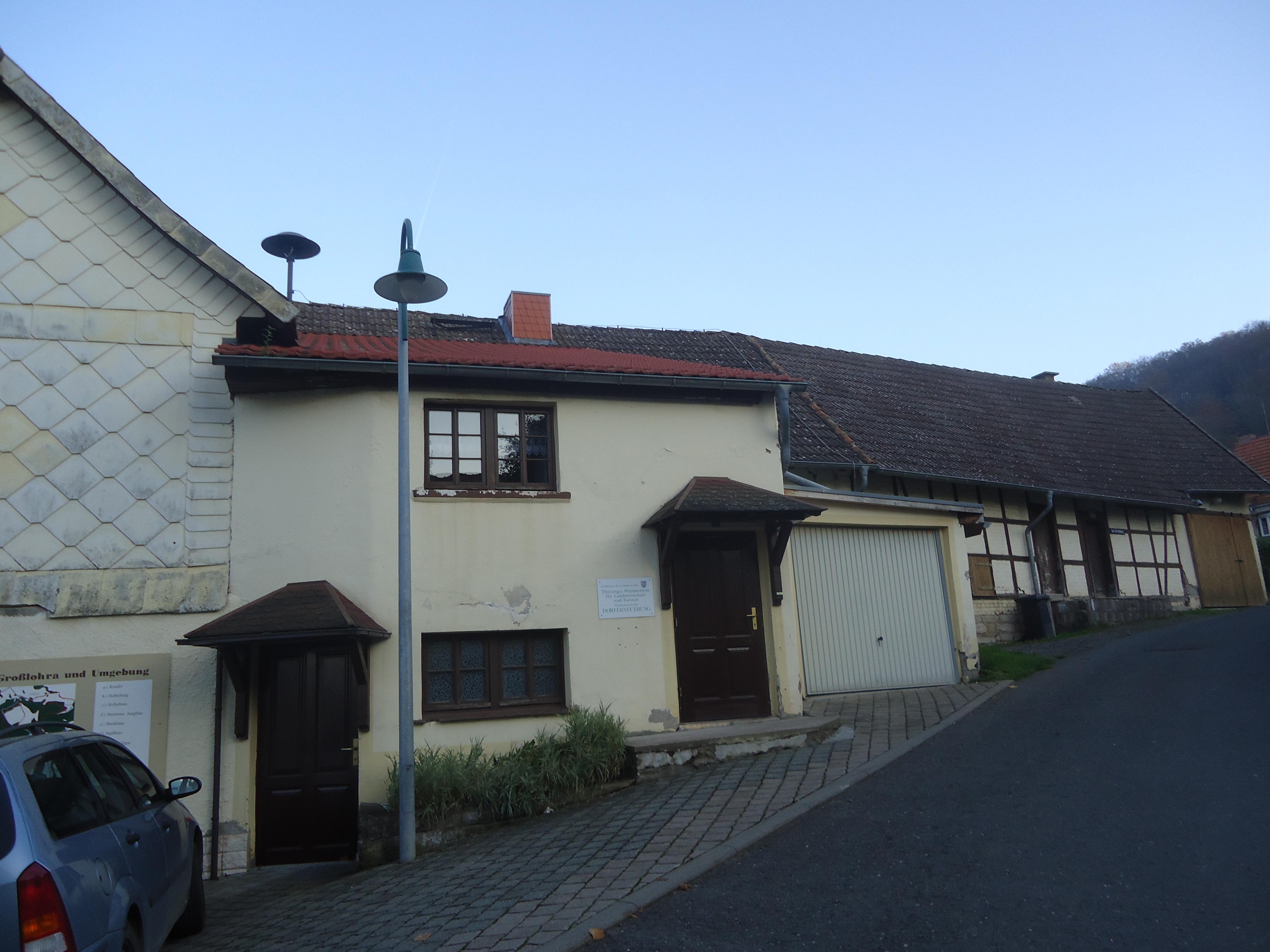Dachfläche Dorfgemeinschaftshaus Großwenden