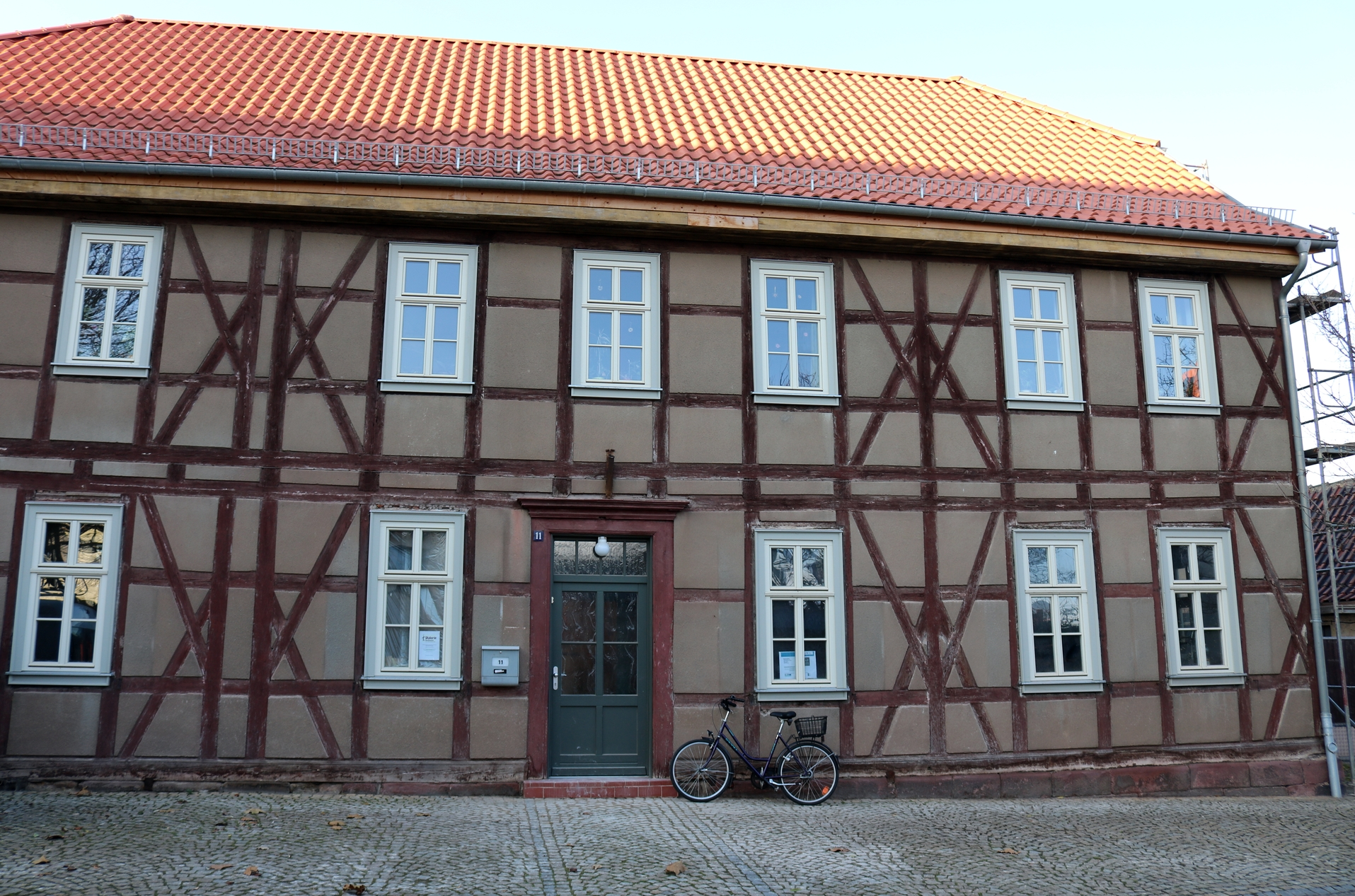 Auch das Pfarramt in Heringen / Helme war eine Station der Projektbereisung