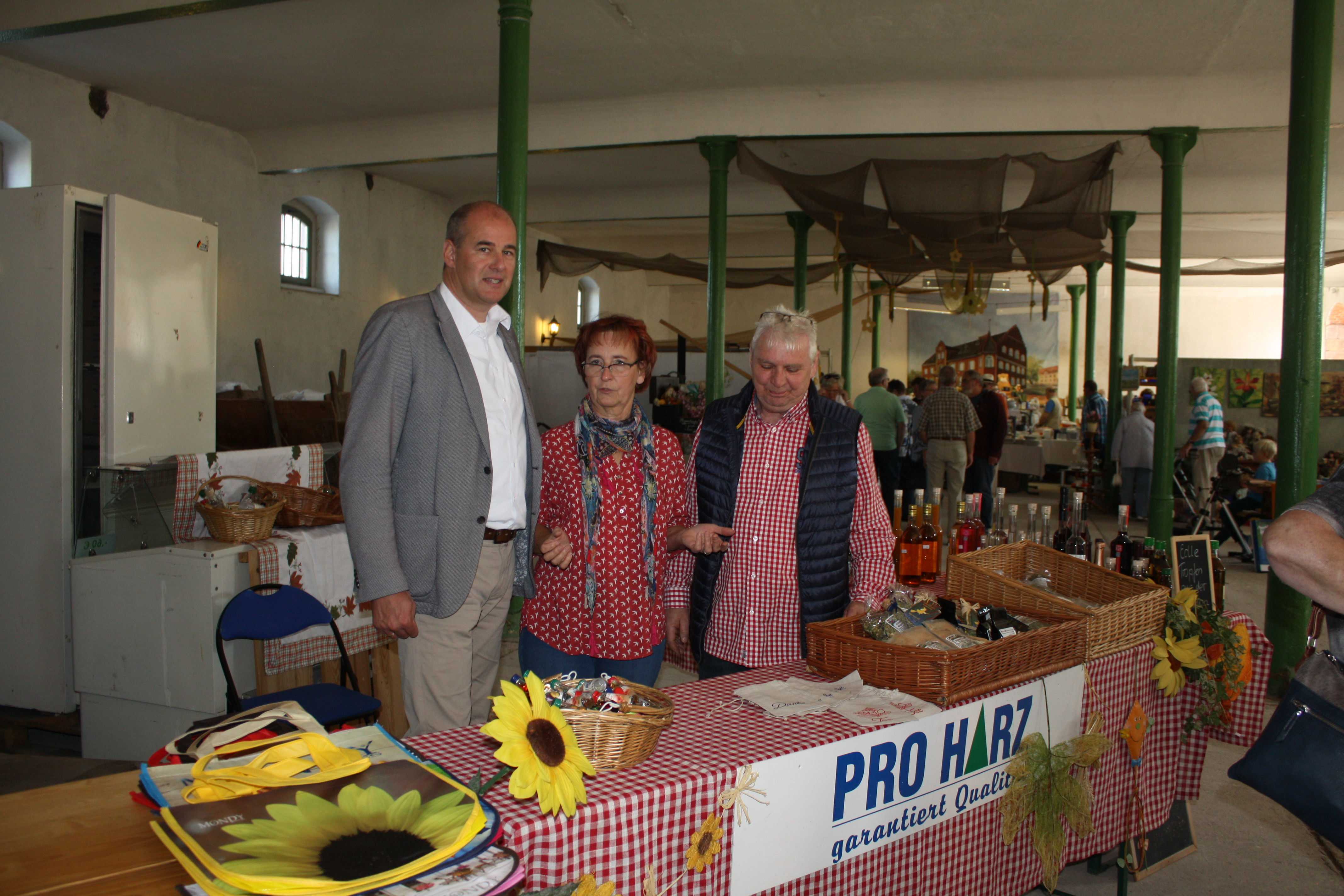 Unser Projektpartner in Sachsen-Anhalt, die Fam. Kirchner von der Posthalterei Stolberg.JPG